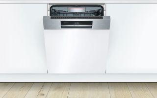 Что такое посудомоечные машины с открытой панелью