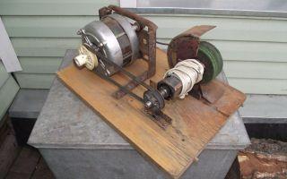 Как сделать точильный станок из двигателя от стиральной машины