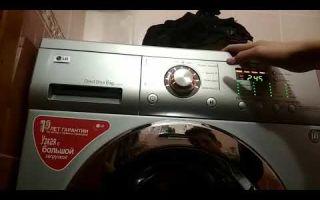 Как тестировать стиральную машину lg