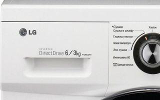 Отзывы о стиральных машинах lg f1296cd3