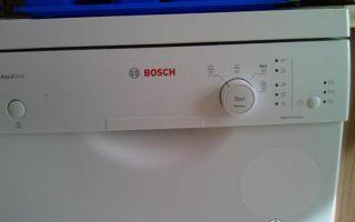Отзывы о посудомоечной машине bosch sps40e32ru
