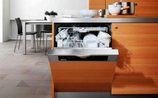 Как выбрать шкаф и установить в него посудомойку