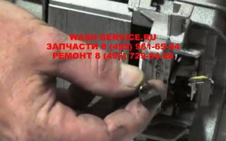 Как поменять щетки двигателя стиральной машины?