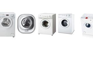 Маленькие стиральные машины – обзор
