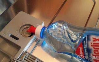 Самодельный ополаскиватель для посудомоечной машины