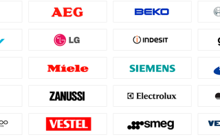 Марки и бренды стиральных машин