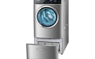 Узкие стиральные машины с сушкой