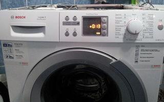 Ошибка f04 в стиральной машине bosch