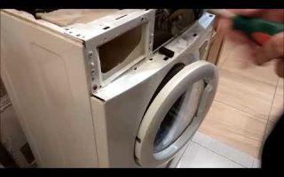 Как отремонтировать стиральную машину самсунг