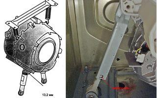 Как поменять пружины, амортизаторы и демпфера в стиральной машине