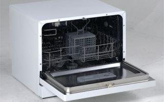 Обзор посудомоечных машин на 4 комплекта