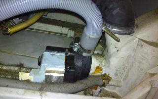 Как поменять сливной шланг стиральной машины?