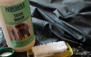 Как стирать палатку в стиральной машине?