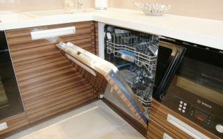 Крепление фасада к посудомоечной машине