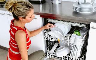 Можно ли открыть посудомойку во время работы