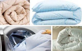 Можно ли стирать синтепоновое одеяло в стиральной машине и как?