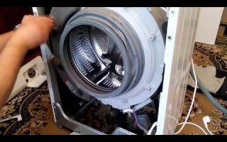 Разборка стиральной машинки lg своими руками