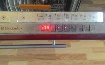 Мигает индикатор щетка в посудомоечной машине bosch