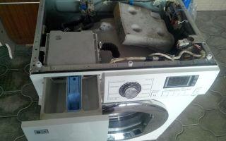 Как снять крышку со стиральной машины lg