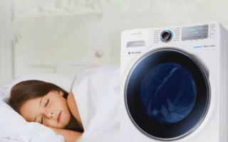 Бесшумные стиральные машины (самые тихие)
