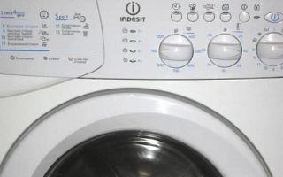 Инструкция для стиральной машины indesit wisl 103